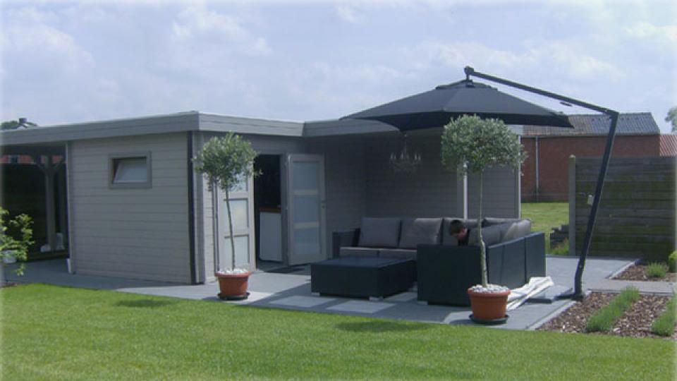 Modern garden special - Eigentijds buitenkant terras ...